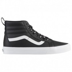 vans sk8 hi black leather vans sk8 hi leather vans sk8 hi men s black leather