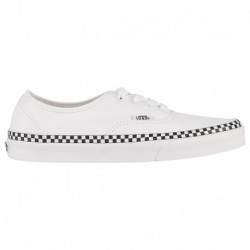 Vans Authentic Check Foxing Vans Authentic - Women's True White/True White | Check Foxing