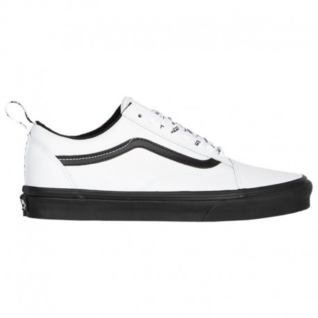 Vans Old Skool Shoes Black White Vans Old Skool - Boys' Grade School White/Black