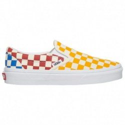 vans classic slip on baby blue vans classic slip on goblin blue vans classic slip on boys grade school yellow red blue