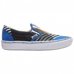 Vans Comfycush Checkerboard Slip On Vans Comfycush Slip-On - Boys' Grade School Multi | Juxtapose