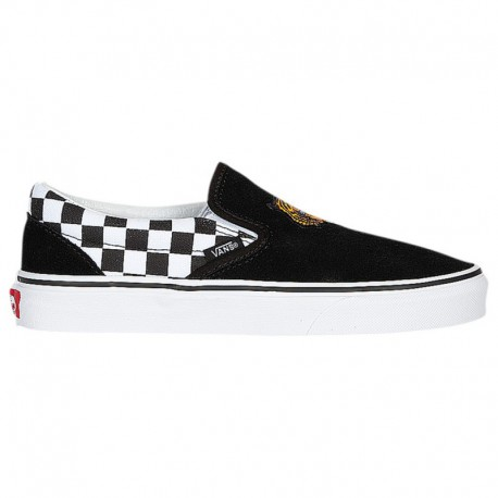 Vans Classic Slip On Disney Vans Classic Slip On - Boys' Grade School Tiger