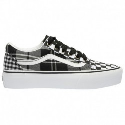 old skool platform vans sale vans checkerboard old skool sale vans old skool platform women s black true white plaid checkerboa