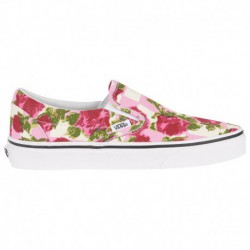 vans classic slip on garden floral vans classic slip on hawaiian floral vans classic slip on women s multi true white romantic