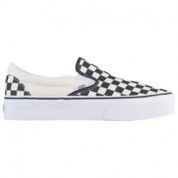 vans classic platform slip on kids classic slip on platform vans classic slip on platform women s black white checkerboard