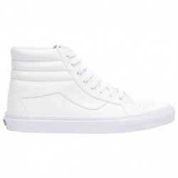 Vans Sk8 Hi White Leather Vans Sk8 Hi - Men's White/White | Leather