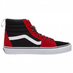 vans sk8 hi true red vans sk8 hi black true red vans sk8 hi men s red black true white otw webbing