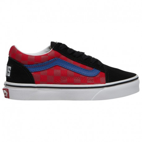 Vans Old Skool Otw Rally Sneaker Vans Old Skool - Boys' Preschool Black/Red/Checker | Otw Rally