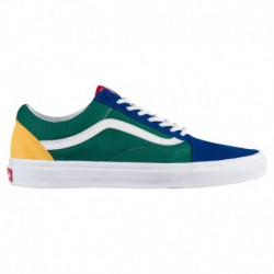 vans old skool green yellow blue vans old skool green blue yellow vans old skool men s blue green yellow