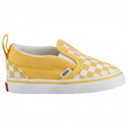 cheap white slip ons buy vans checkerboard slip ons vans classic slip on boys toddler aspen gold true white checkerboard