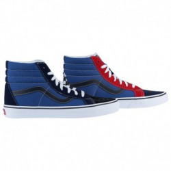 Vans Sk8 Hi Navy Red Vans Sk8 Hi - Men's Red/Navy/Multi Color