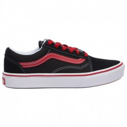 Vans Comfycush Old Skool Vans Comfycush Old Skool - Boys' Grade School Black/Red | Pop
