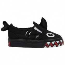 Vans Classic Slip On Shark Vans Classic Slip On - Boys' Toddler Phin/Black | Shark Week