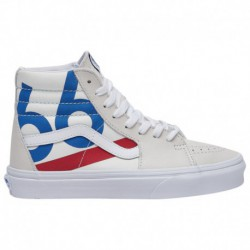Difference Between Sk8 Hi And Sk8 Hi Slim Vans Sk8-Hi - Boys' Grade School Blanc/66 Sail