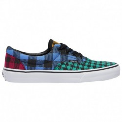 Vans Era 59 Bleu Marine Vans Era - Boys' Grade School Sea Green/Ultra Marine | What The Buffalo/Plaid
