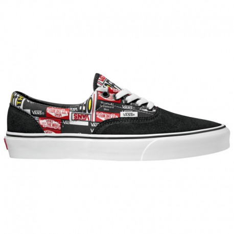 Vans Era PRO Black Label Vans Era - Men's Black/White/Red | Label Mix