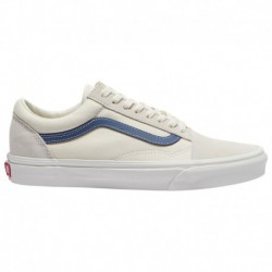 Vans Old Skool Vintage White Blue Vans Old Skool - Men's White/blue | Vintage Stripe