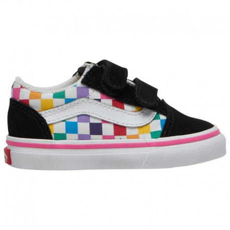 Vans Old Skool Rainbow Foxing True White Vans Old Skool - Girls' Toddler Rainbow/True White/Black