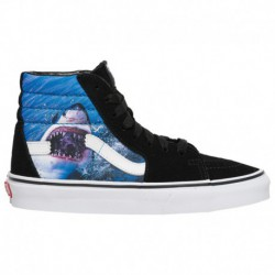 Vans X Shark Week Sk8 Hi Vans Sk8-Hi - Boys' Grade School Black/True White | Shark Week
