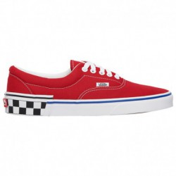 vans check era trainers check foxing era vans vans era check heel men s red white