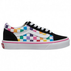 fake black old skool vans old skool skate shop vans old skool girls preschool rainbow true white black checkerboard