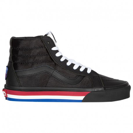 Vans Sk8 Hi Black True White Vans Sk8 Hi - Men's Black/True White | Fight Night Pack