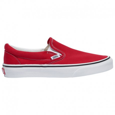 Vans Classic Slip On Rainbow True White Vans Classic Slip On - Women's Racing Red/True White