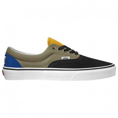 Vans Era Green Black Vans Era - Men's Black/Green/White | Rally