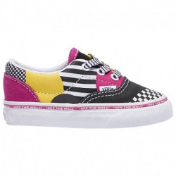vans era canvas multi vans era multi bright vans era boys toddler black multi multi disarray
