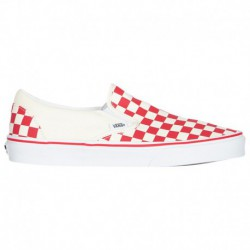 what slip on vans cheap slip on vans vans classic slip on men s racing red white