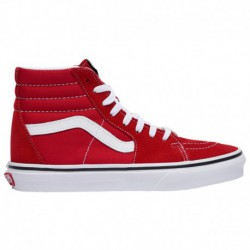 sk8 hi slim red canvas sk8 hi red vans sk8 hi women s racing red true white