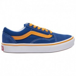 Vans Comfycush Old Skool Blue Vans Comfycush Old Skool - Boys' Preschool True Blue/Cadmium Yellow | Pop