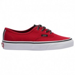 vans authentic old school vans authentic red white vans authentic boys grade school red white otw