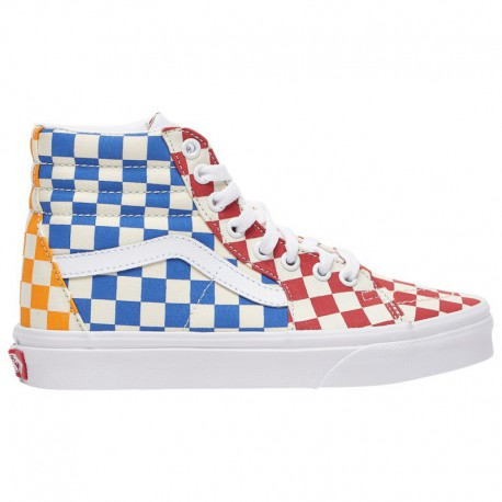 Sk8 Hi Mte 2.0 Dx Pastel Multi True White Vans Sk8-Hi - Boys' Grade School Multi/True White/Yellow | Checkerboard