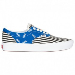 Vans Comfycush Era Black Vans Comfycush Era - Men's Blue/Black/Orange