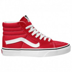 vans sk8 hi red white vans sk8 hi red vans sk8 hi men s red white