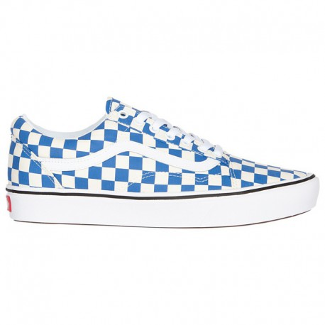 Vans Comfycush Old Skool White Vans Comfycush Old Skool - Men's Blue/True White