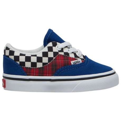 Vans Era 59 Racing Red Vans Era - Boys' Toddler True Blue/Racing Red | Plaid Checkerboard